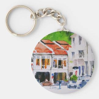 Chinatown Singapore Keychains