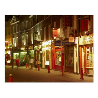 Chinatown, Soho, London, England, United Kingdom Postcard