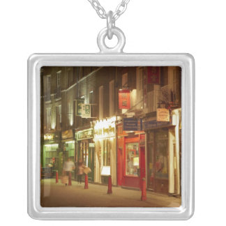 Chinatown, Soho, London, England, United Kingdom Silver Plated Necklace