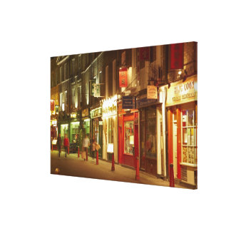 Chinatown, Soho, London, England, United Kingdom Stretched Canvas Print