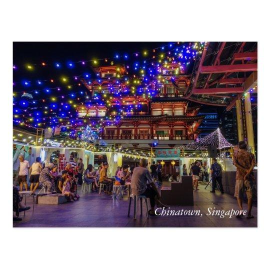 Chinatown Visitor Centre, Singapore Postcard