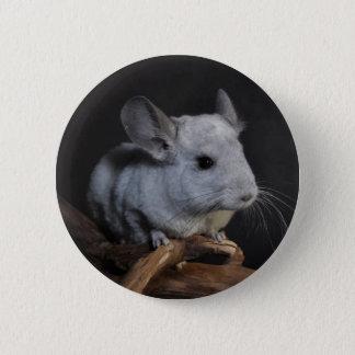 Chinchilla 6 Cm Round Badge