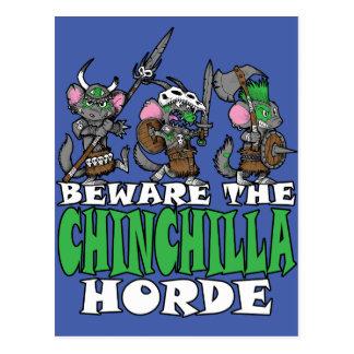 Chinchilla Horde Postcard