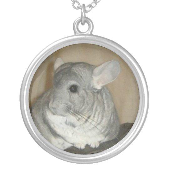 Chinchilla Necklace (round)