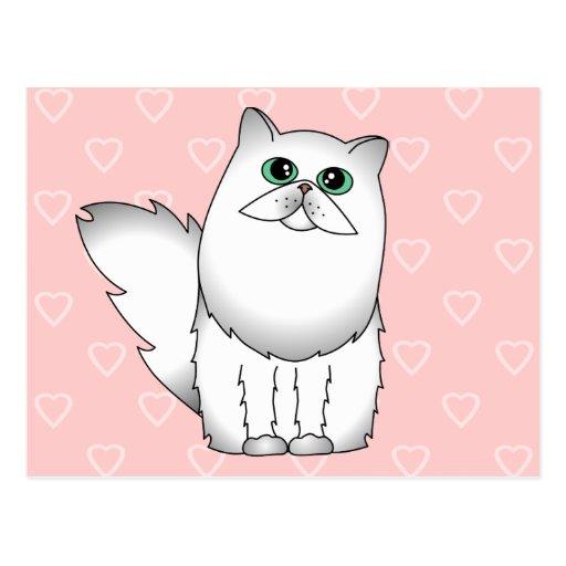 Chinchilla Persian Cat Post Card