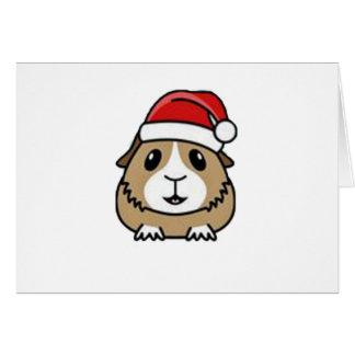 Chinchilla Santa Hat Cards