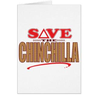 Chinchilla Save Card