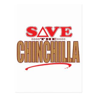 Chinchilla Save Postcard