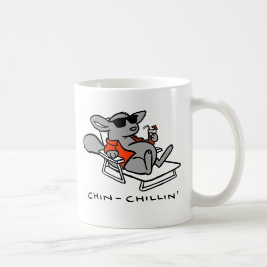 chinchillin- Chinchilla Coffe mug