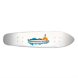 Chincoteague Island. Skateboard Deck