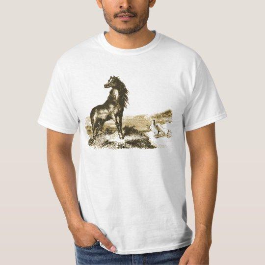 Chincoteague Pony Art Illustration T-Shirt