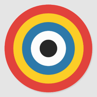Chinese Air Force Roundel 1920-1921 Sticker