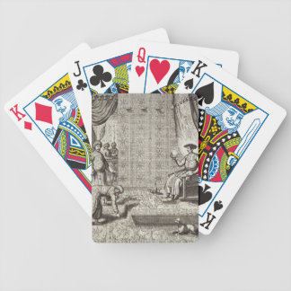 Chinese Ambassadors to an Indian Ruler, from 'Chin Bicycle Playing Cards