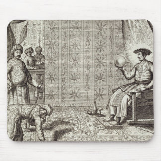 Chinese Ambassadors to an Indian Ruler, from 'Chin Mouse Mat