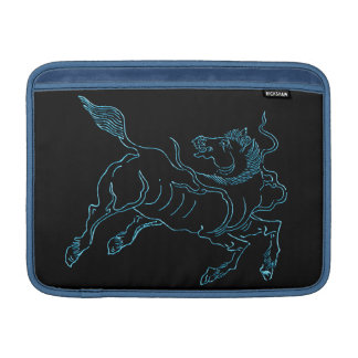 Chinese ancient sea horse blue sleeve for MacBook air