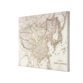 Chinese and Japanese Empires Canvas Print