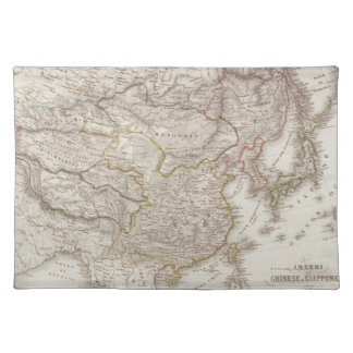Chinese and Japanese Empires Placemat