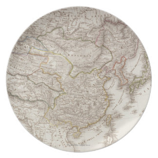 Chinese and Japanese Empires Plate
