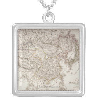 Chinese and Japanese Empires Silver Plated Necklace