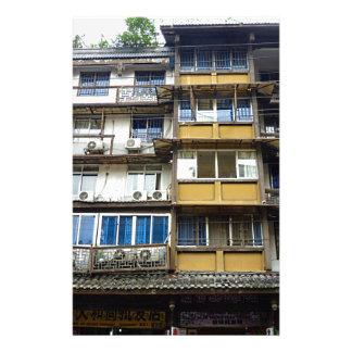 Chinese Architecture Customized Stationery