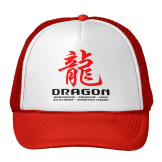 Chinese Astrology Dragon Cap