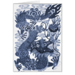Chinese Blue Dragon - Emperor Water Dragon 2012 Cards