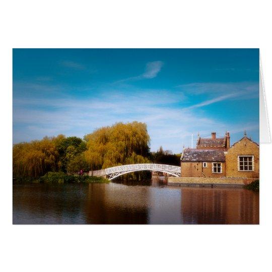 Chinese Bridge at Godmanchester Card