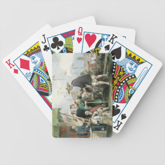 Chinese Cat Merchants, from 'China in a Series of Poker Deck