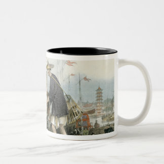Chinese Cat Merchants, from 'China in a Series of Two-Tone Coffee Mug