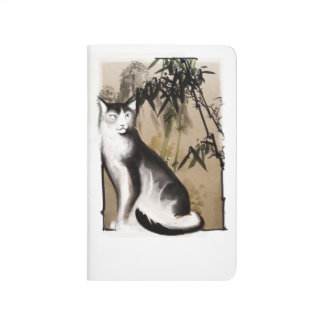 Chinese Cat Pocket Journal