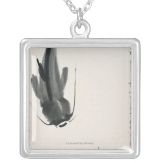 Chinese Catfish Silver Plated Necklace