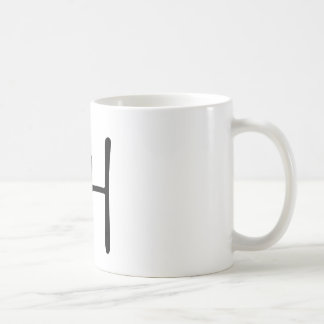 Chinese Character jiao Meaning cry shout Mugs