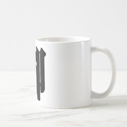 Chinese Character : jiao, Meaning: feet Coffee Mug