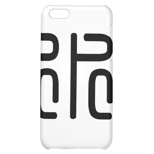 Chinese Character : shui, Meaning: water iPhone 5C Cover