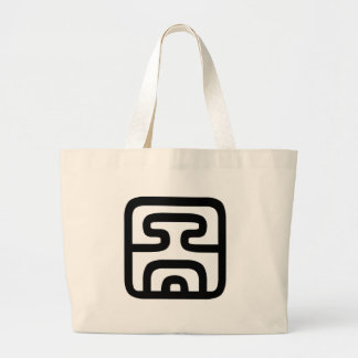 Chinese Character : tu2, Meaning: diagram, chart, Tote Bag