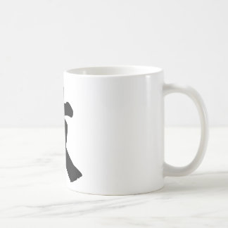 Chinese Character : wen, Meaning: literature Coffee Mug