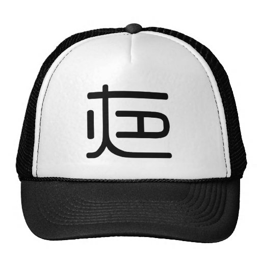 Chinese Character : ye, Meaning: night Hats