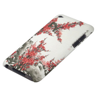 Chinese Cherry Blossom Barely There iPod Cases