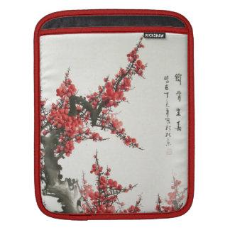 Chinese Cherry Blossom iPad Sleeves