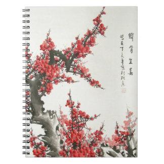 Chinese Cherry Blossom Notebook