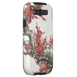 Chinese Cherry Blossom Samsung Galaxy SIII Covers