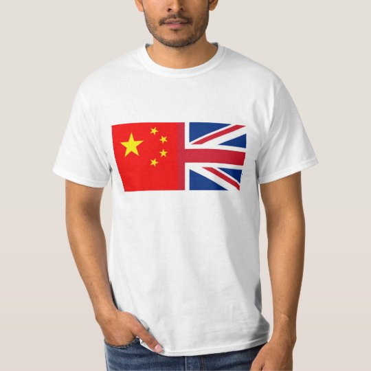 Chinese - China - British Flag - Union