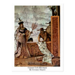 Chinese Cloth Merchant By Giovanni Tiepolo Post Card