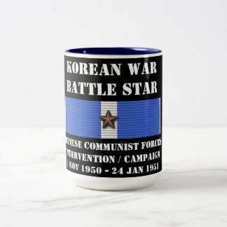 Chinese Communist Forces Intervention Campaign Two-Tone Mug