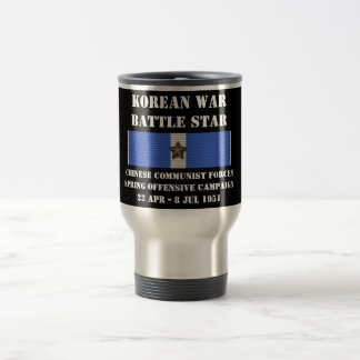 Chinese Communist Forces Spring Offensive Campaign Stainless Steel Travel Mug