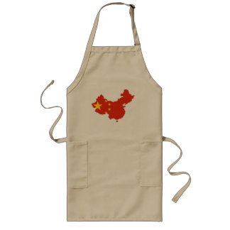 Chinese country long apron