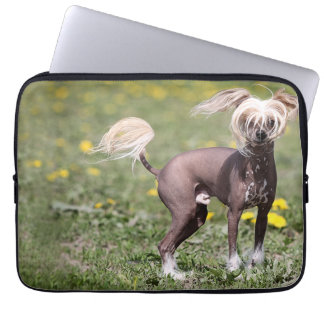 "Chinese Crested 13"" Laptop Sleeve"