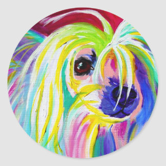 Chinese Crested #2 Round Sticker