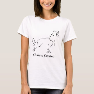 Chinese Crested Apparel T-Shirt