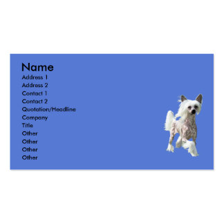 Chinese Crested DIVA Business Cards